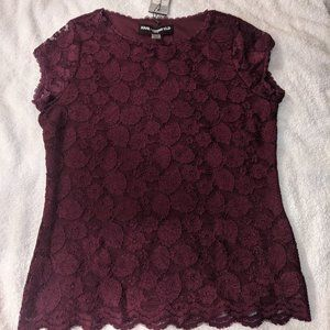 Karl Lagerfeld Lace Top